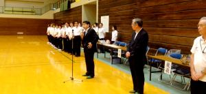 西田薫会長のあいさつ