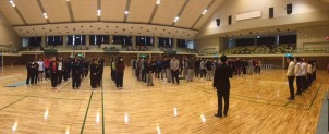 守口市冬季バレーボール大会が開催されました。