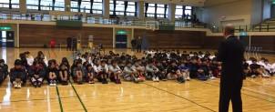 小中学生合流バスケットボール大会