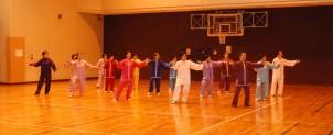 守口市太極拳協会がフェスティバルを開催